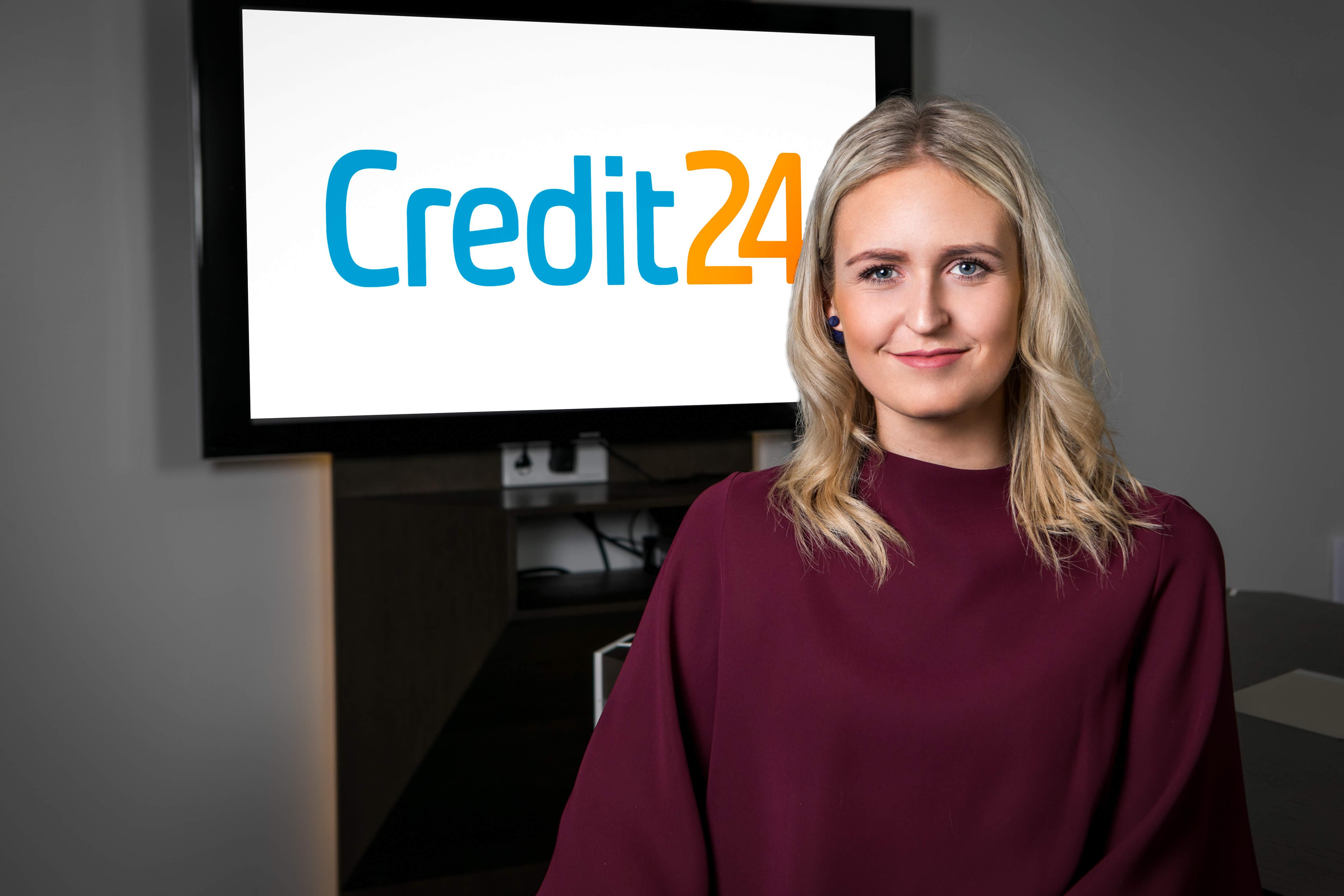 Credit24. Taustajõud. Klienditeeninduse juht. Britta-Liisa Ait
